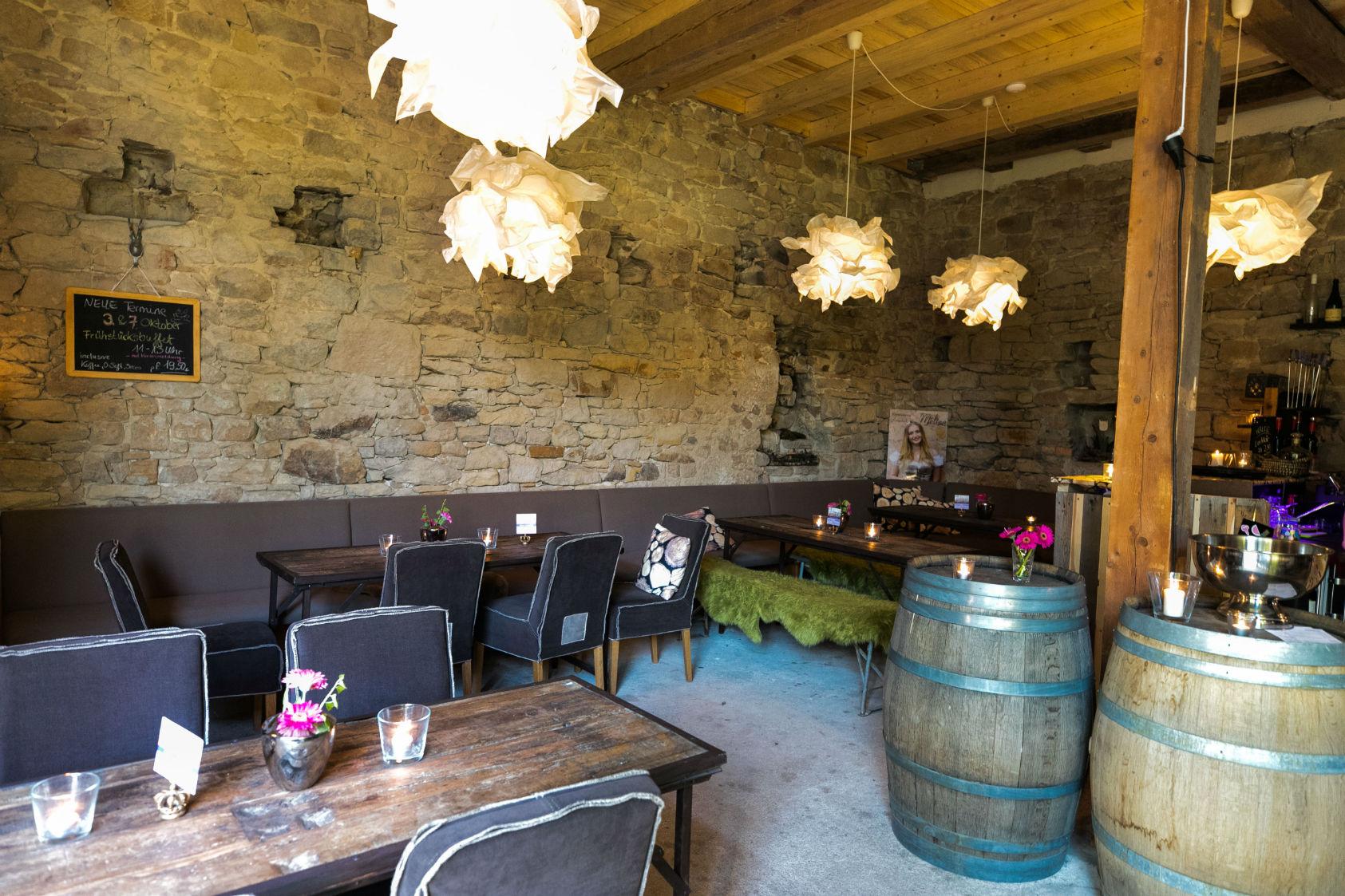 Die gemütliche Weinstube Lavendelhof in Königsbach