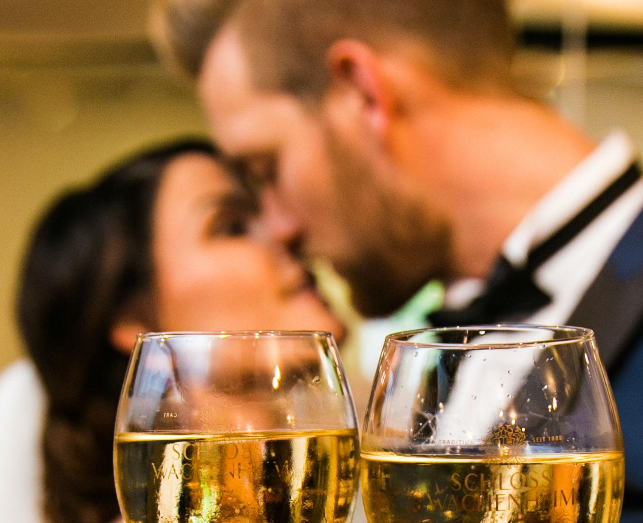 Zum Wohl - Auf das Brautpaar