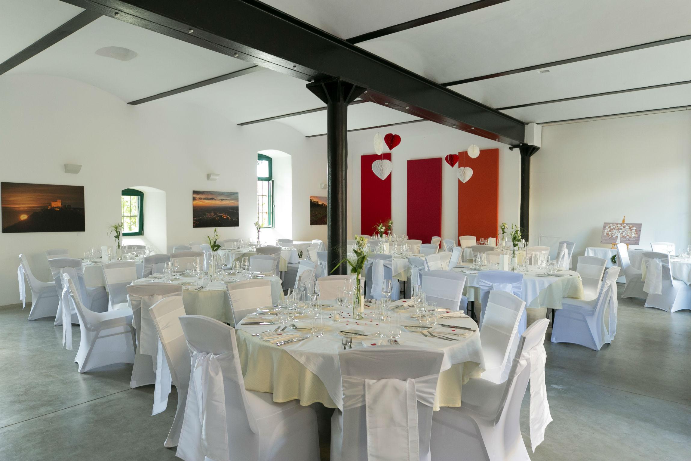 Hochzeitslocation Weingut Weik Hochzeitslokalität in Mussbach in Pfalz