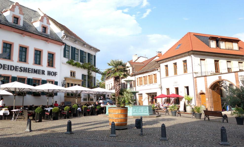 Marktplatz von Deidesheim