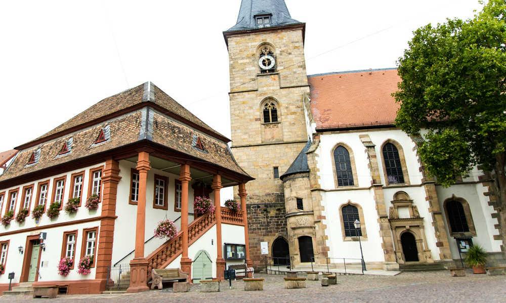 Historisches Rathaus Freinsheim mit Standesamt