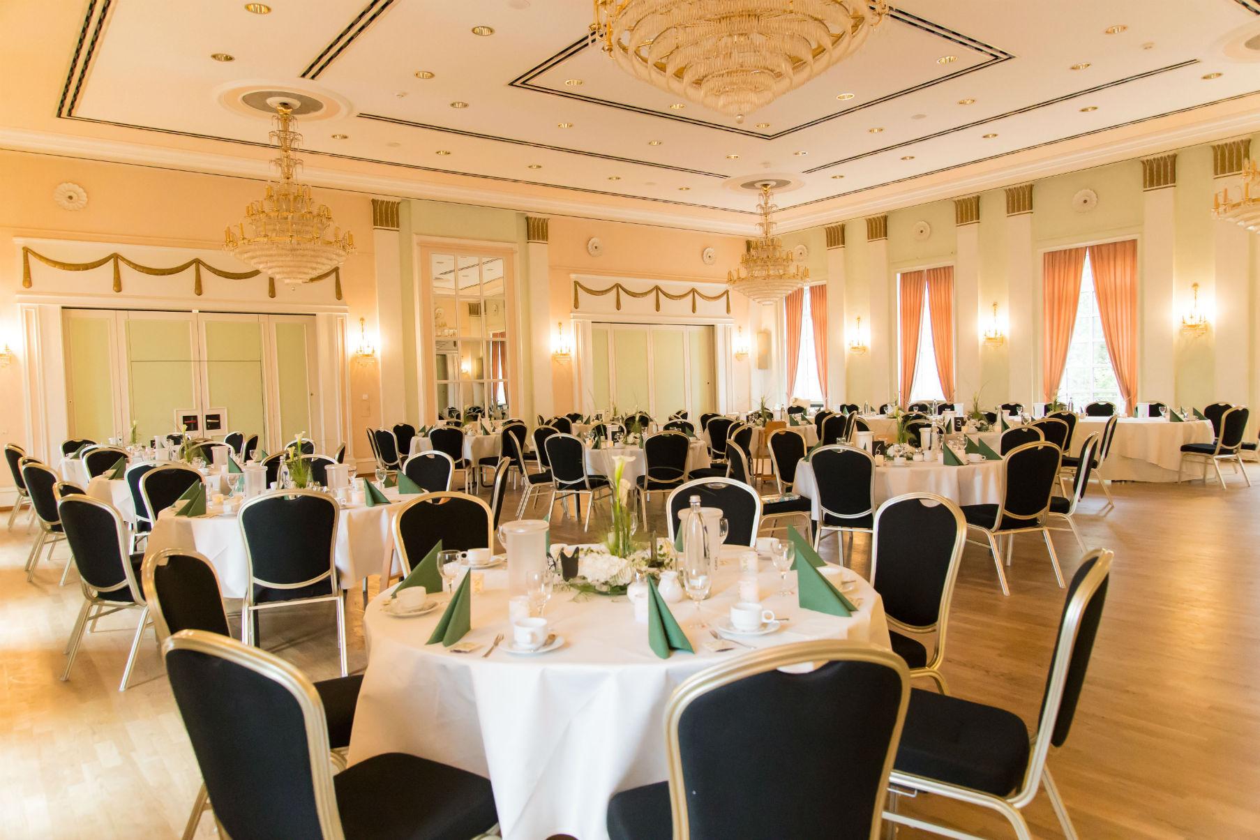 Hochzeitsfeier im Großen Kursaal Bad Dürkheim