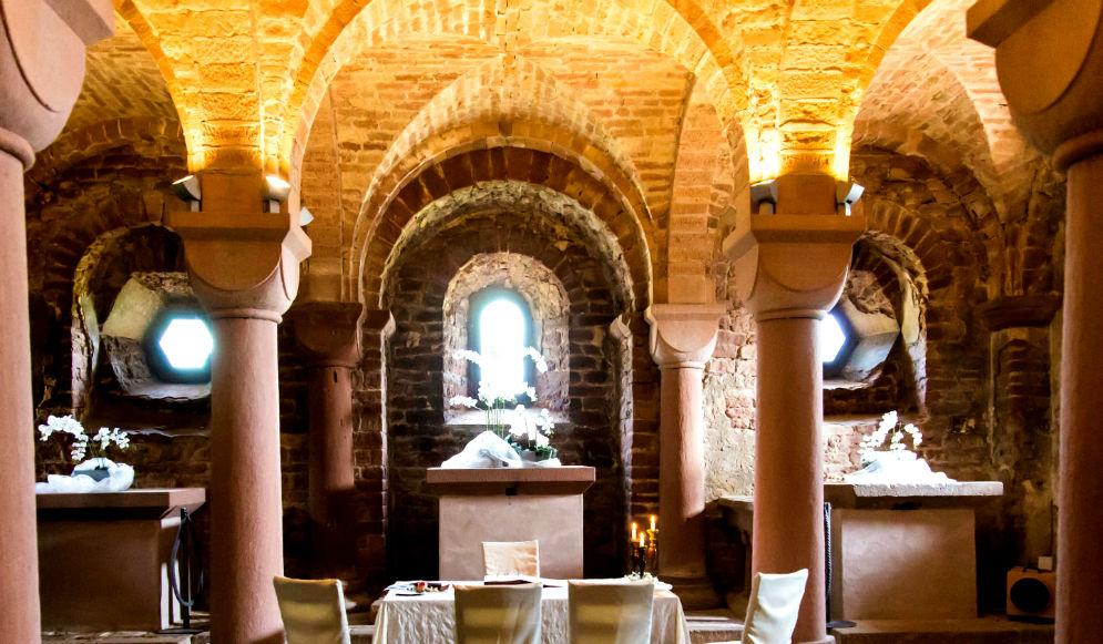 Trauort Krypta der Kloster Limburg in Bad Dürkheim