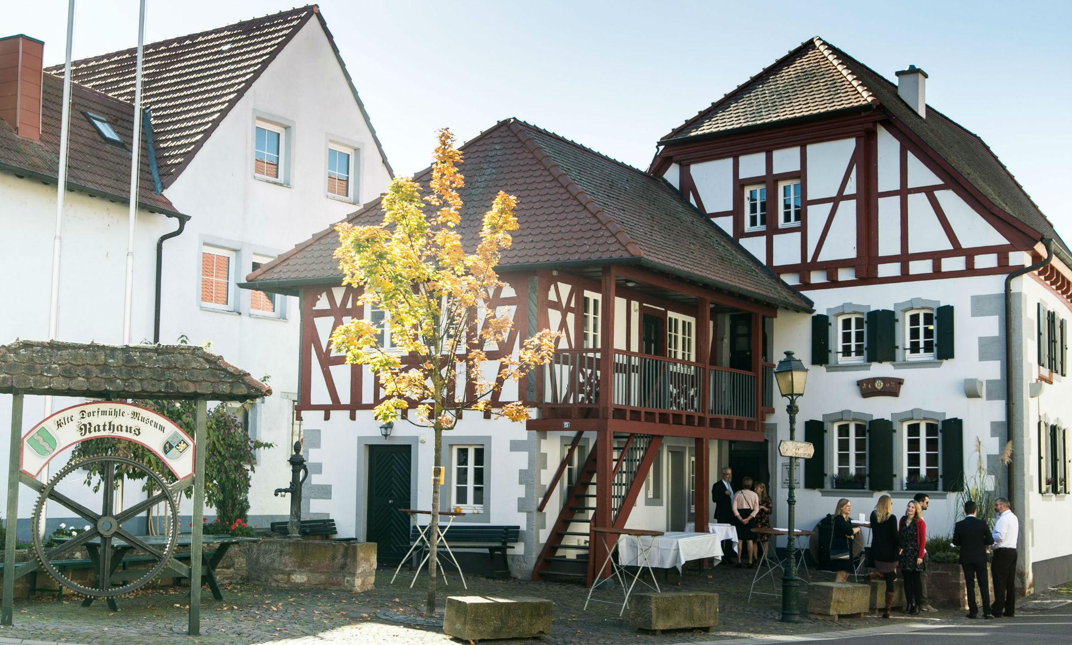 Alte Dorfmühle in Großkarlbach Pfalz