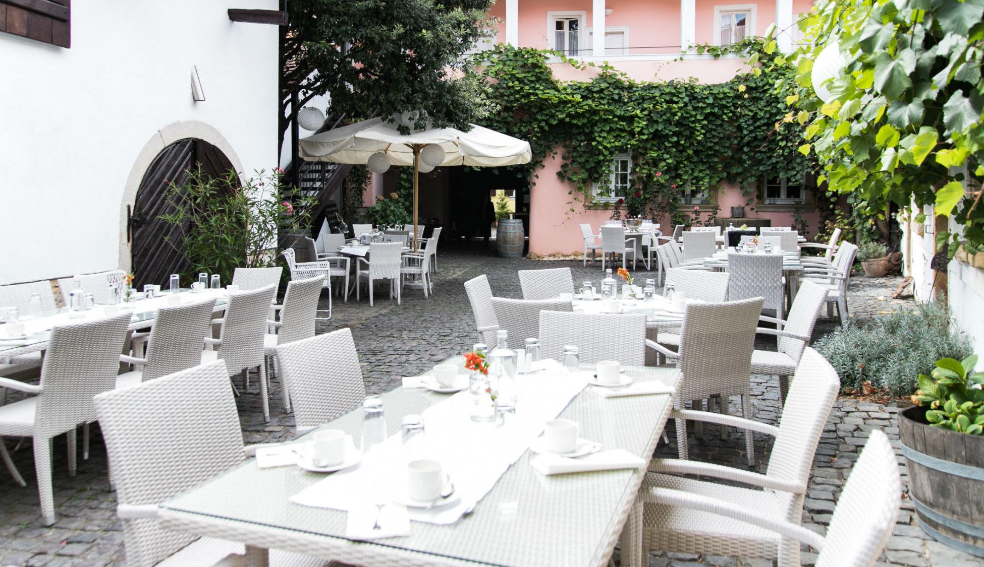 Hochzeitslocation Freinsheimer Hof in Freinsheim